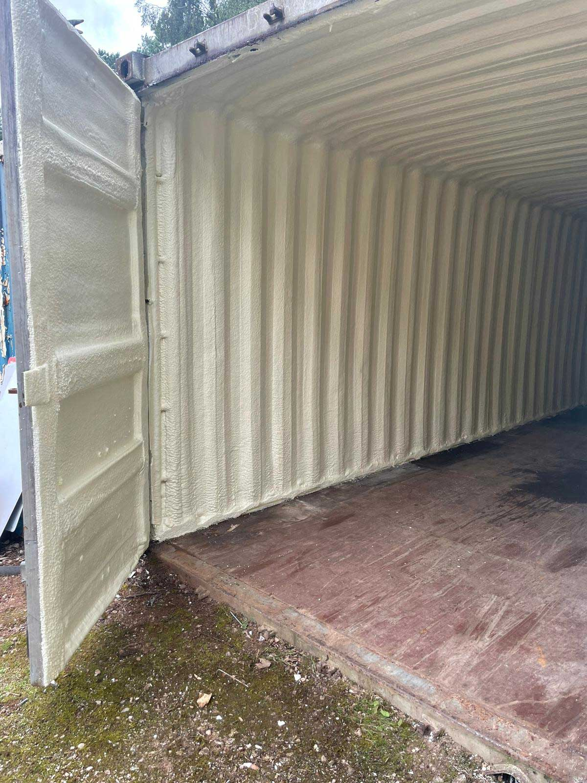 foam insulated shipping containers