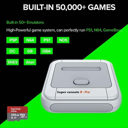 Built-in 50,000 Games  - Super Console X