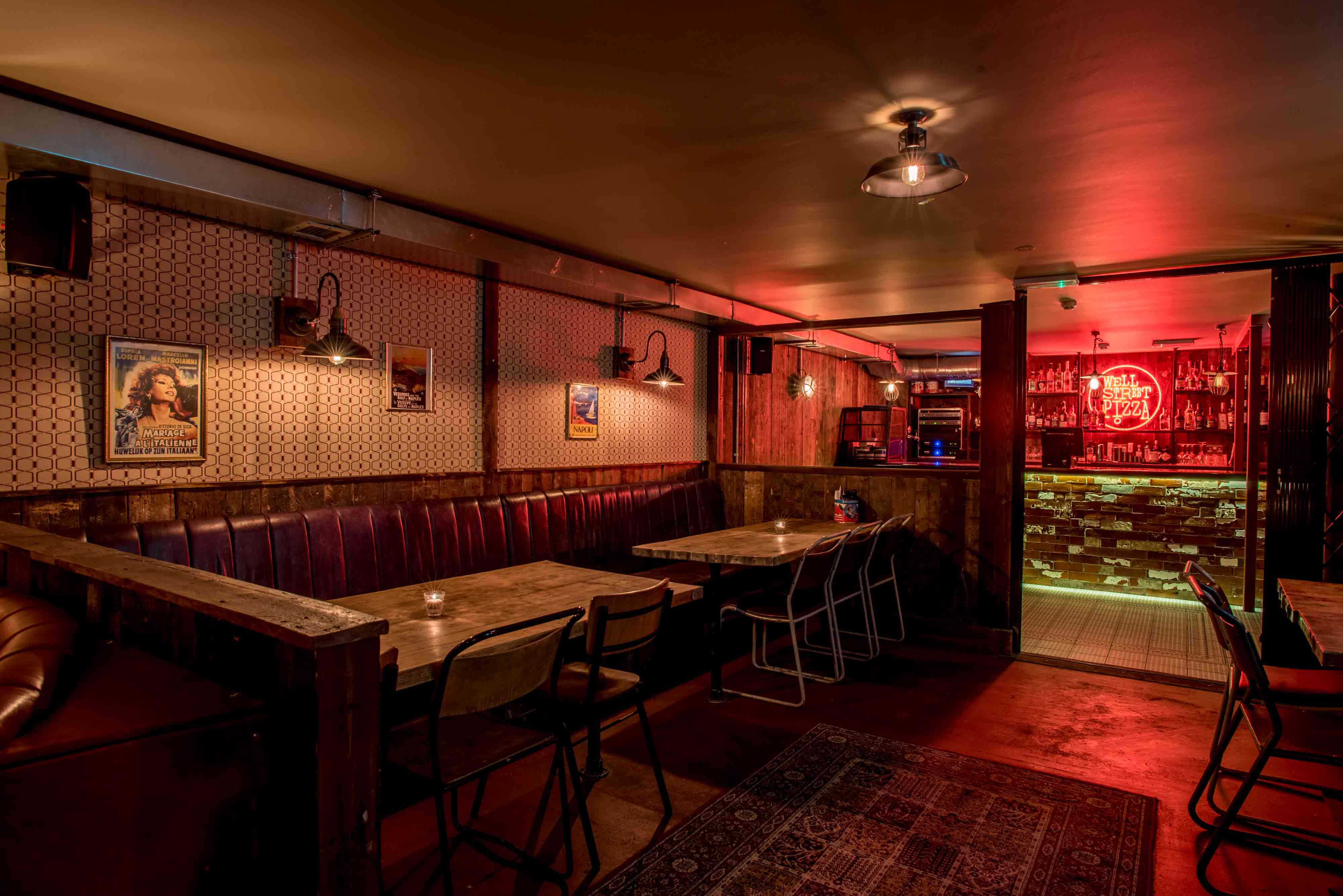 Basement bar for private hire