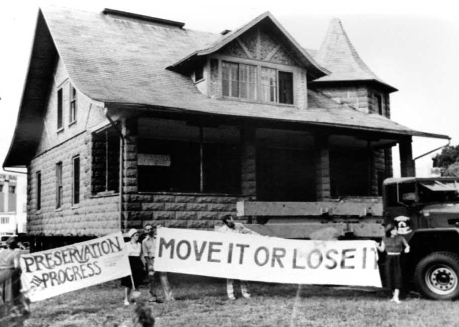 vintage photo of an old house
