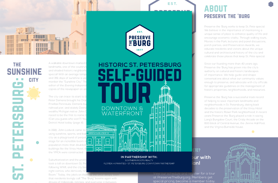 Self-guided tour book of historic st. Petersburg