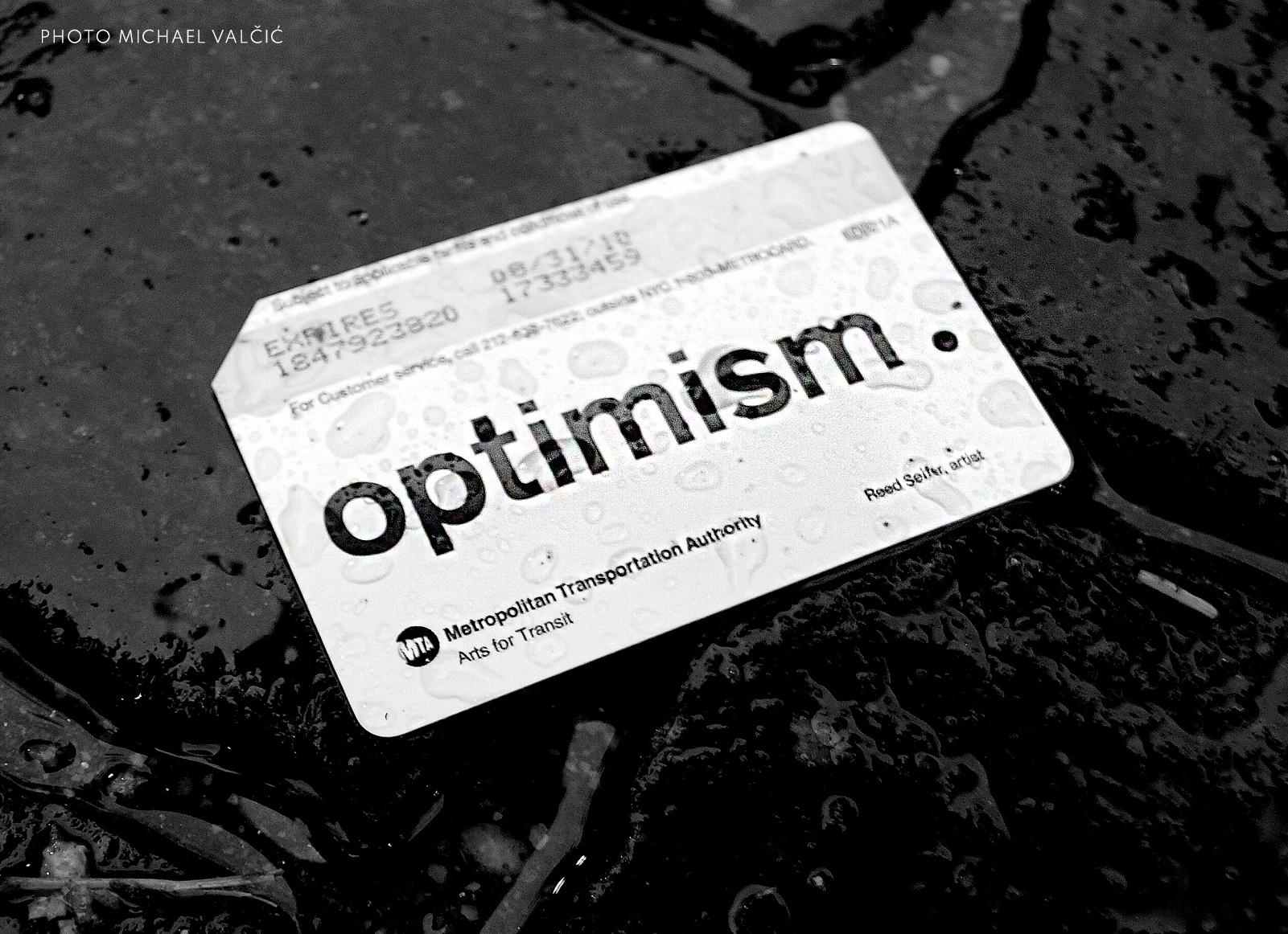 Optimism metrocard