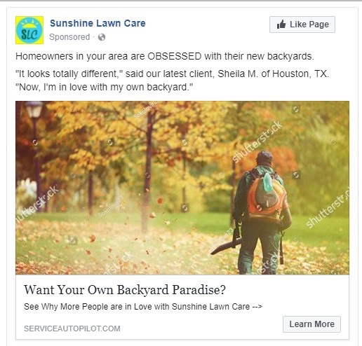 A Quick Guide to Facebook Ads for Lawn Care: Pt. 2 | Service Autopilot