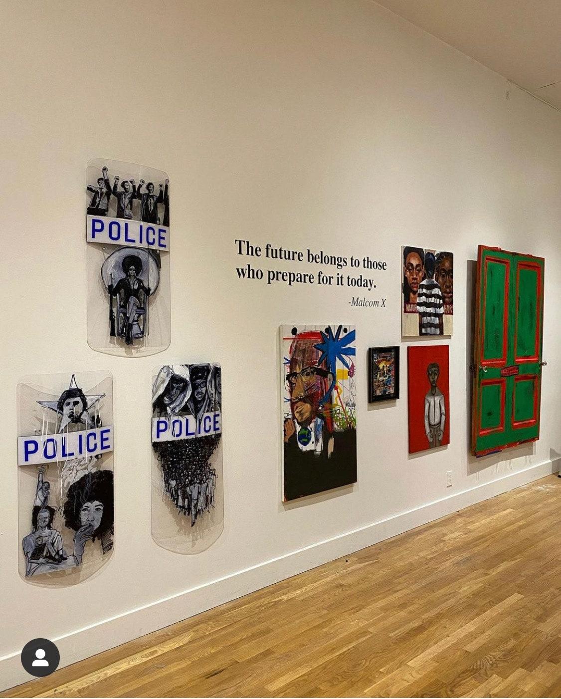 A recent art instillation Barriers held in New York
