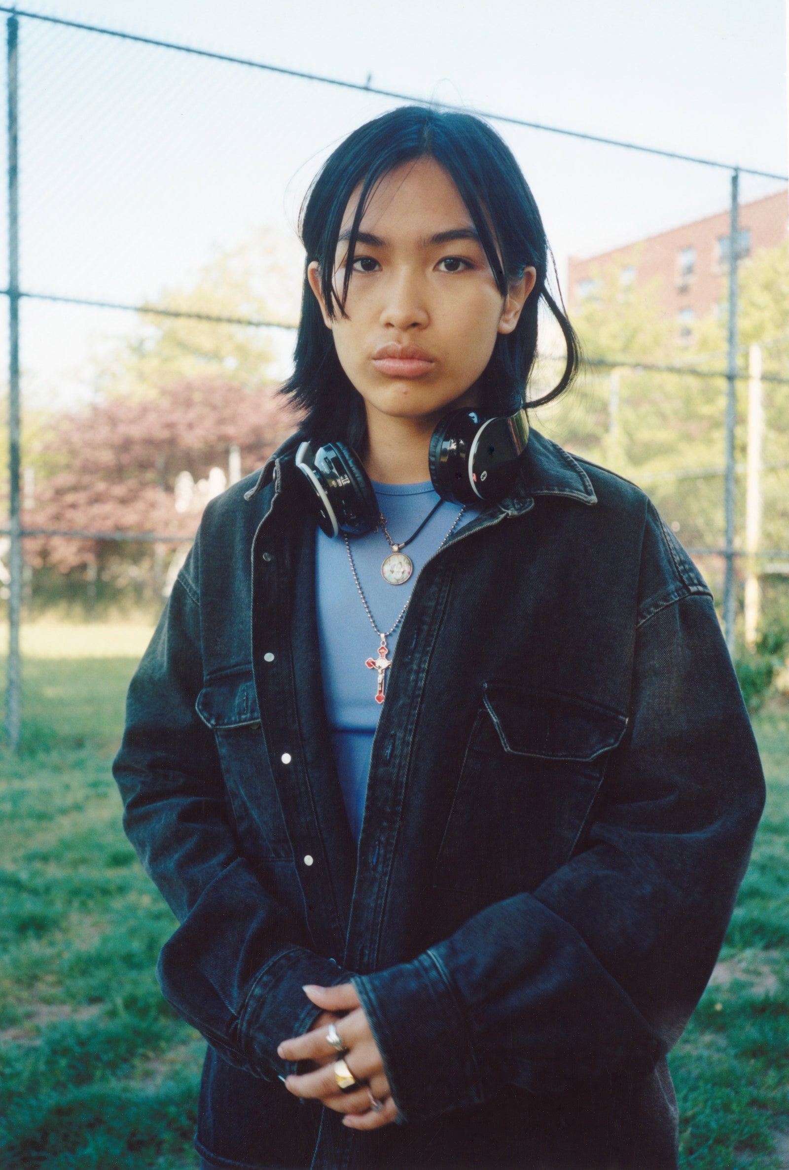 Hop Nguyen is a model based in New York City.