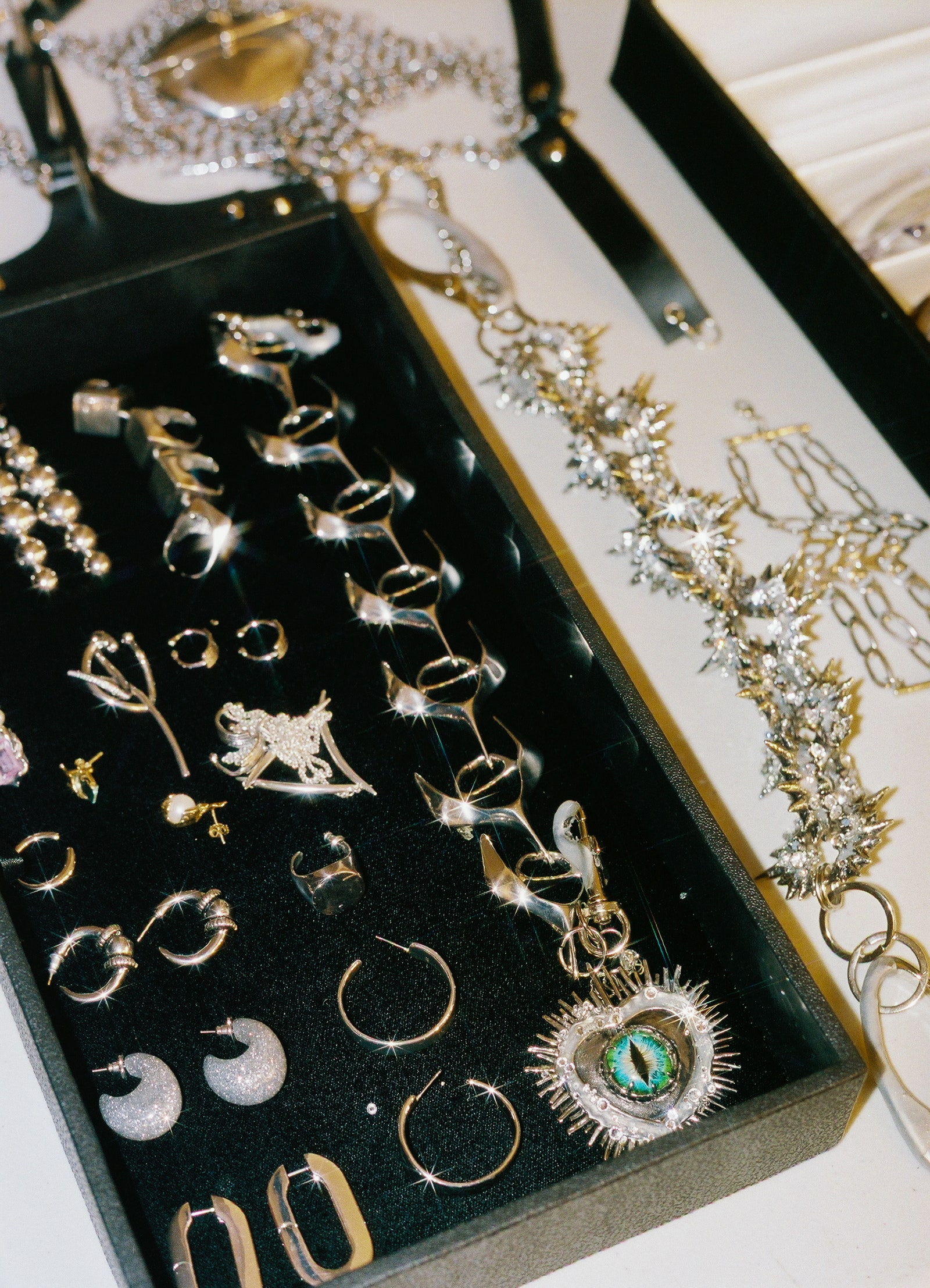 Epic jewelry selection courtesy of my stylist Chris Horan