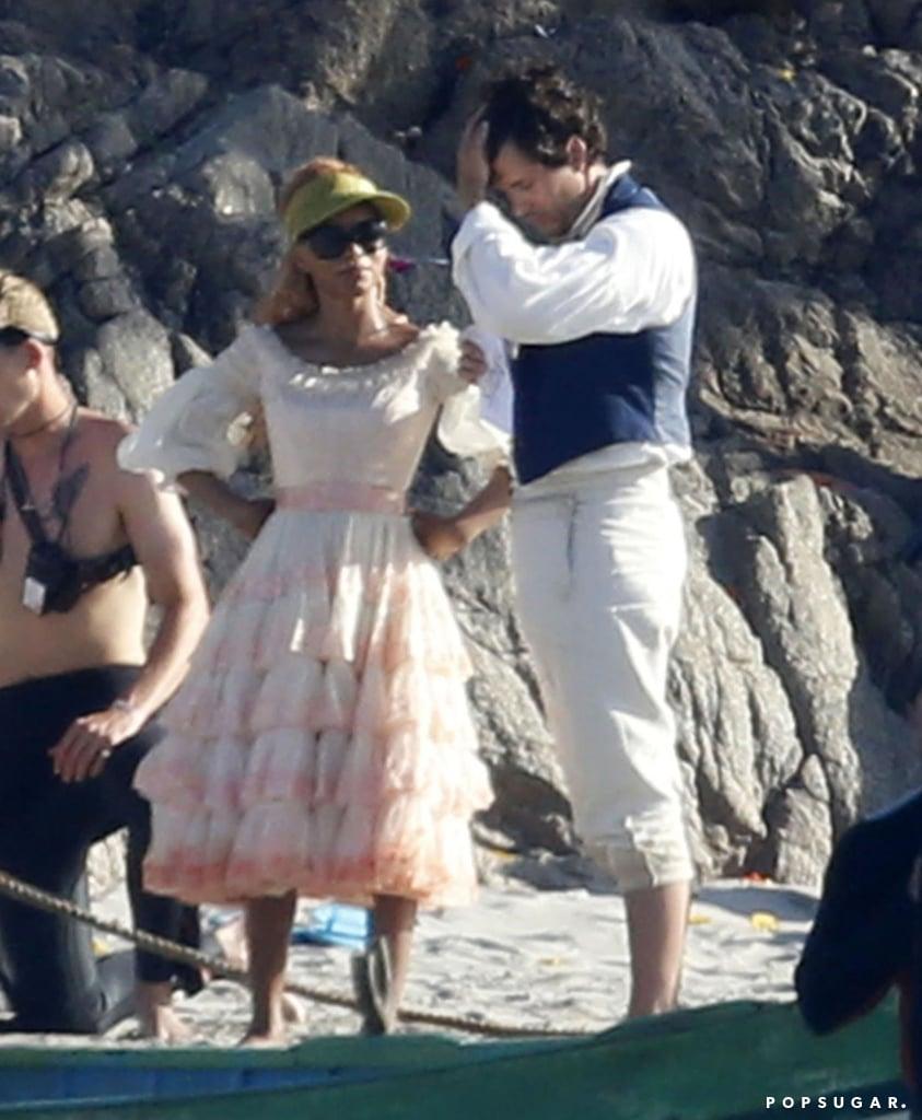 Halle Bailey's Pink Dress as Ariel in The Little Mermaid