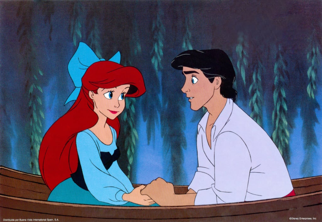 "Ariel's Blue Dress in the Original ""Kiss The Girl"" Scene"