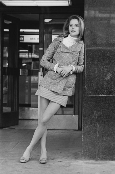 At Heathrow Airport London in 1968.