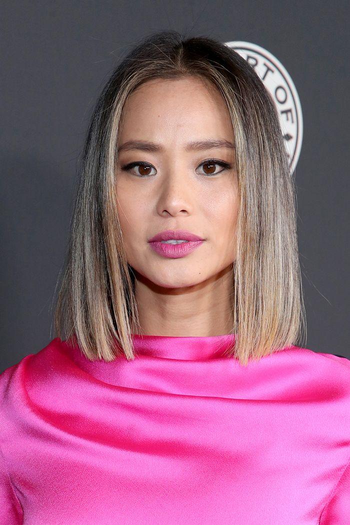 Jamie Chung fine hairstyles