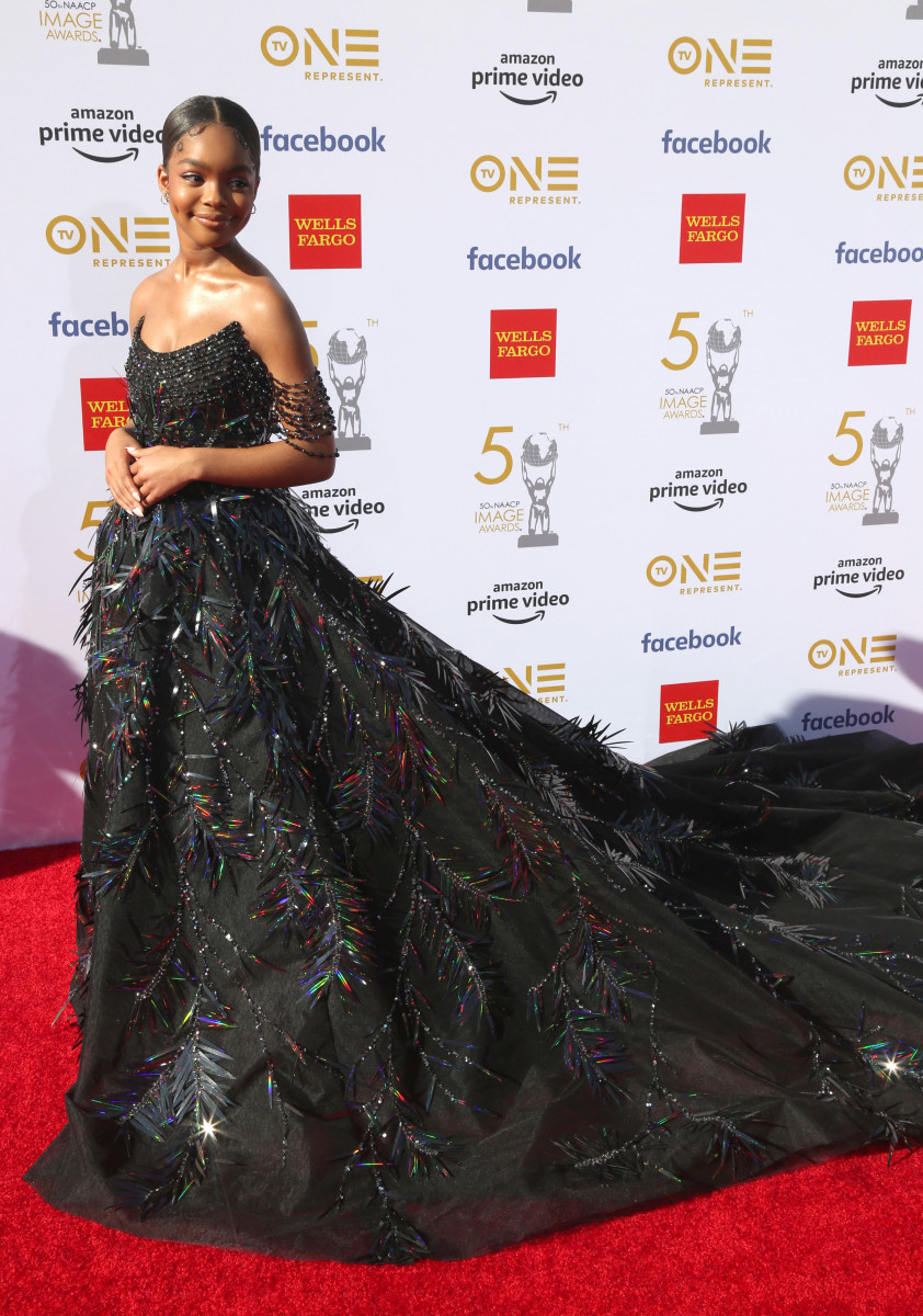 WearingGeorges Hobeika Couture at the 2019 NAACP Image Awards.