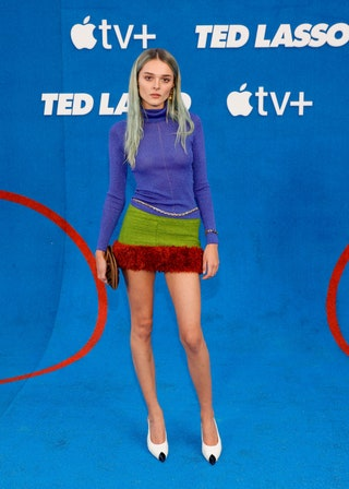 WHO Charlotte Lawrence  WHAT Saint Laurent  WHERE Ted Lasso Season 2 premierenbsp  WHEN July 15