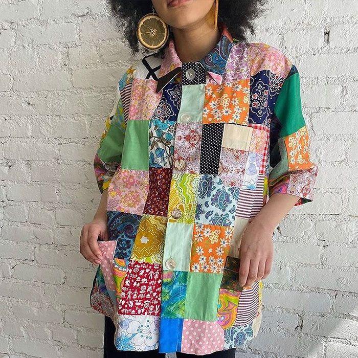 patchwork fashion trend
