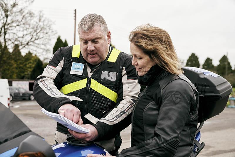 IAM Motorcycle Training
