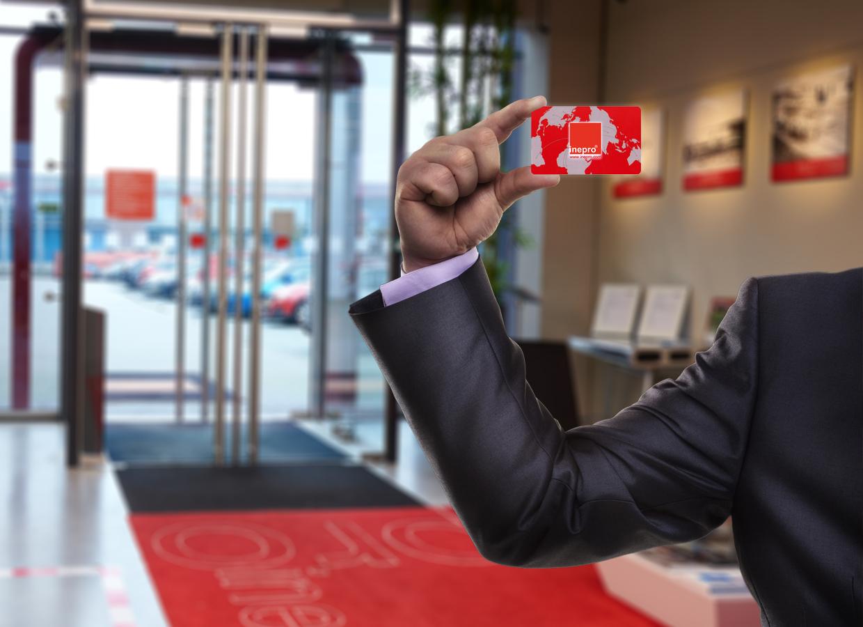 RFID ID tags / card solution company card