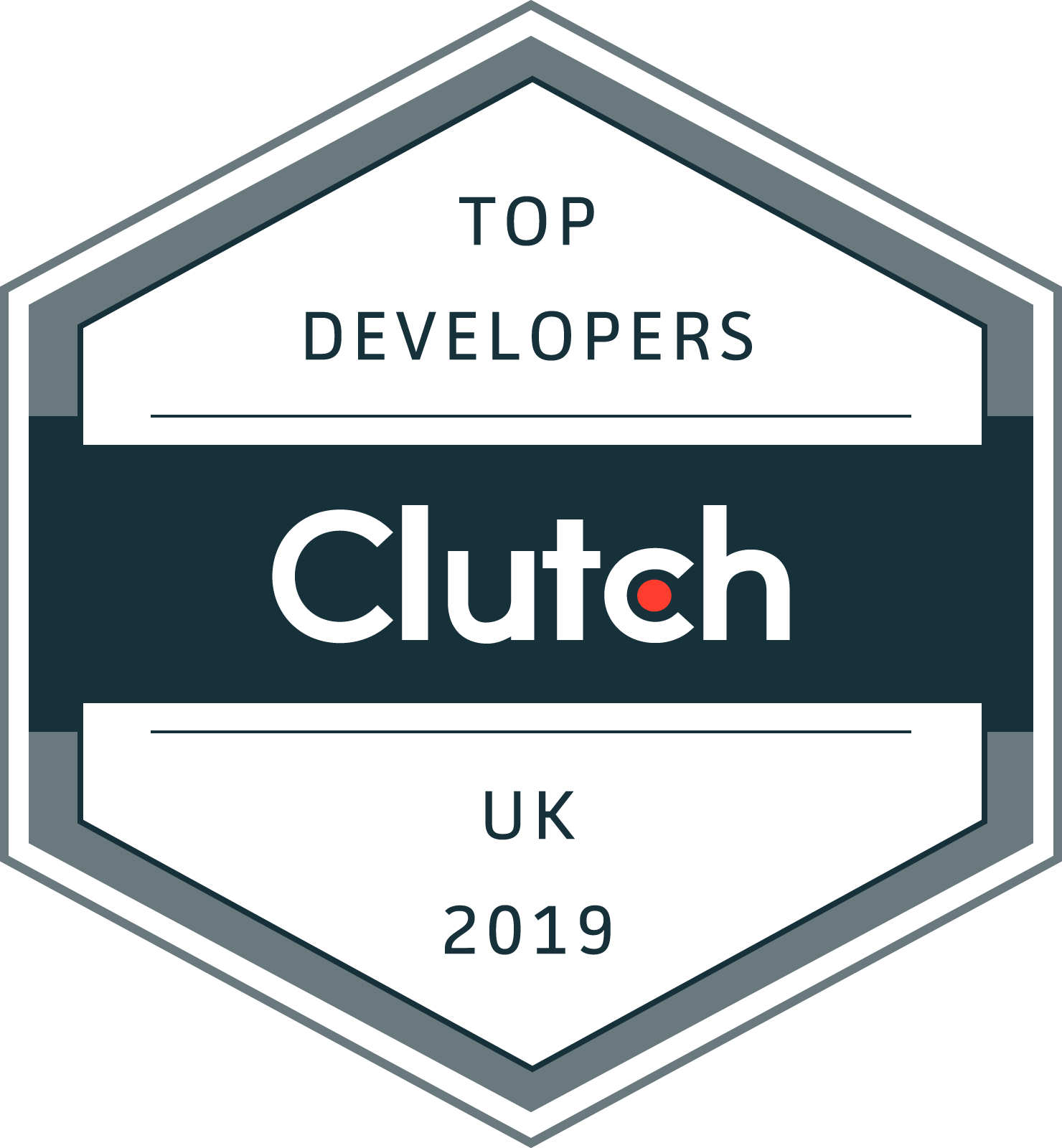 Imaginary Cloud won Clutch Award for Top 50 Developers in UK (2019)