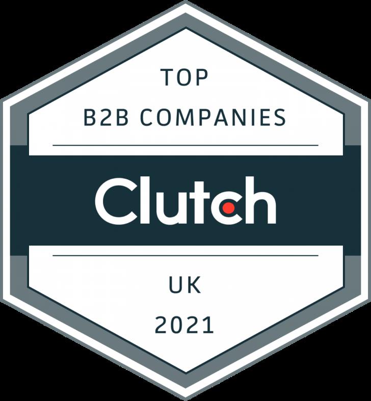 Imaginary Cloud won Clutch Award for Top B2B Company in UK (2021)