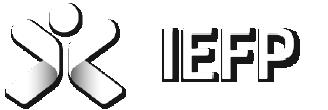 Logotipo IEFP Instituto do emprego e formação profissional