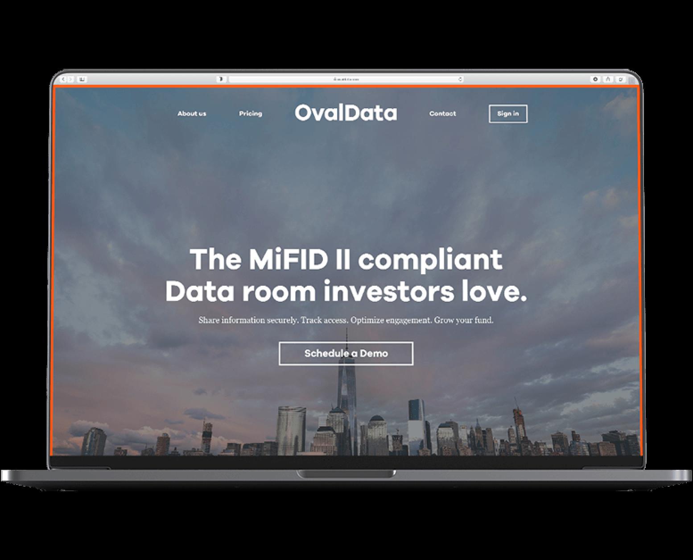 Imaginary Cloud case study: ovaldata