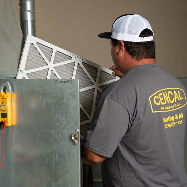 Heating service by Cencal Mechanical Heating & Air