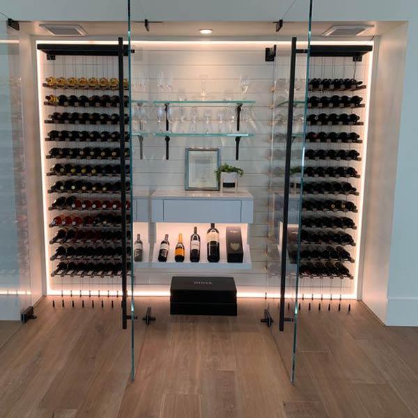 Wine cellar installation in Modesto, CA