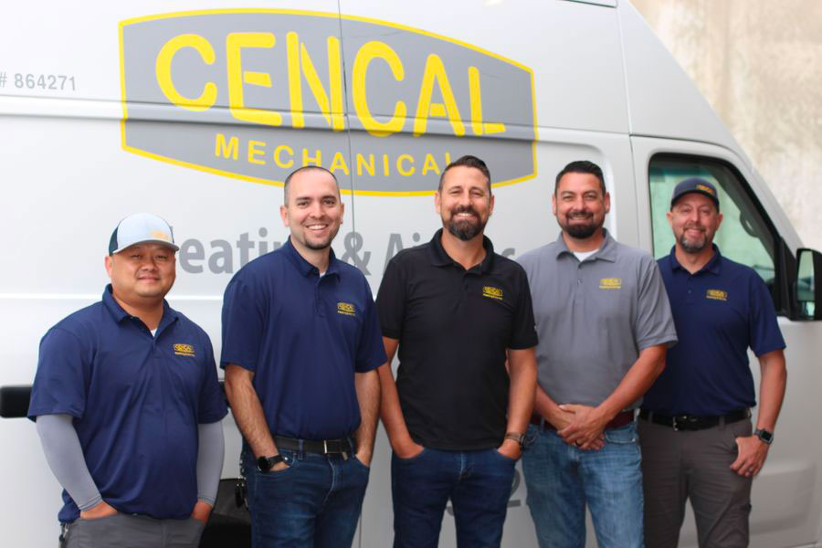 The team of Cencal Mechanical.