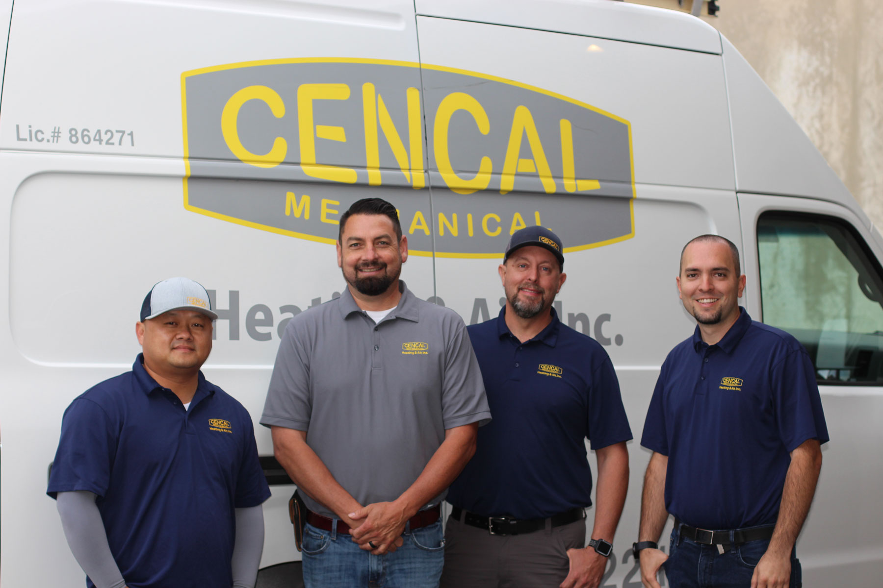 Cencal Mechanical Team