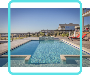 Our exclusive pool