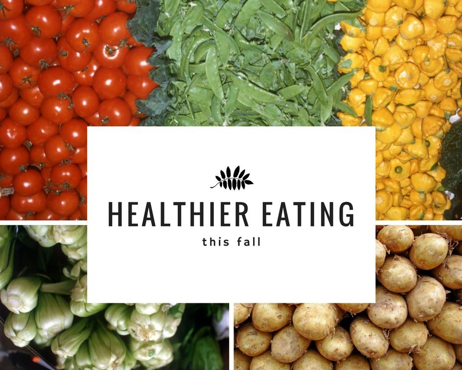 healthier eating this season