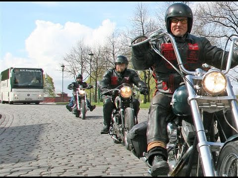 ON THE ROAD WITH VIET NAM VETS LEGACY VETS MC SCANDINAVIA