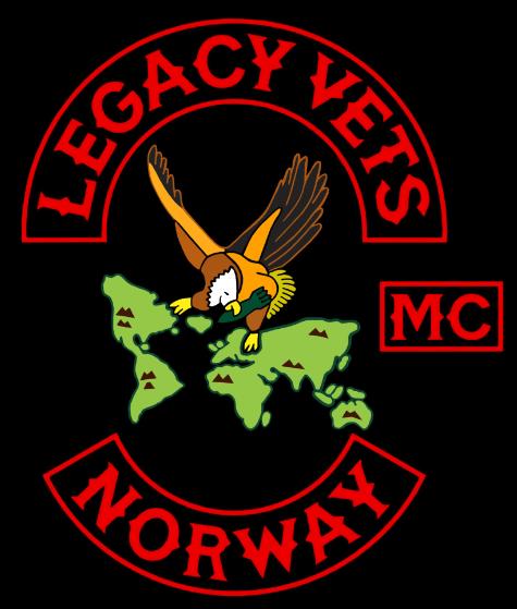 Legacy Vets MC Norway logo
