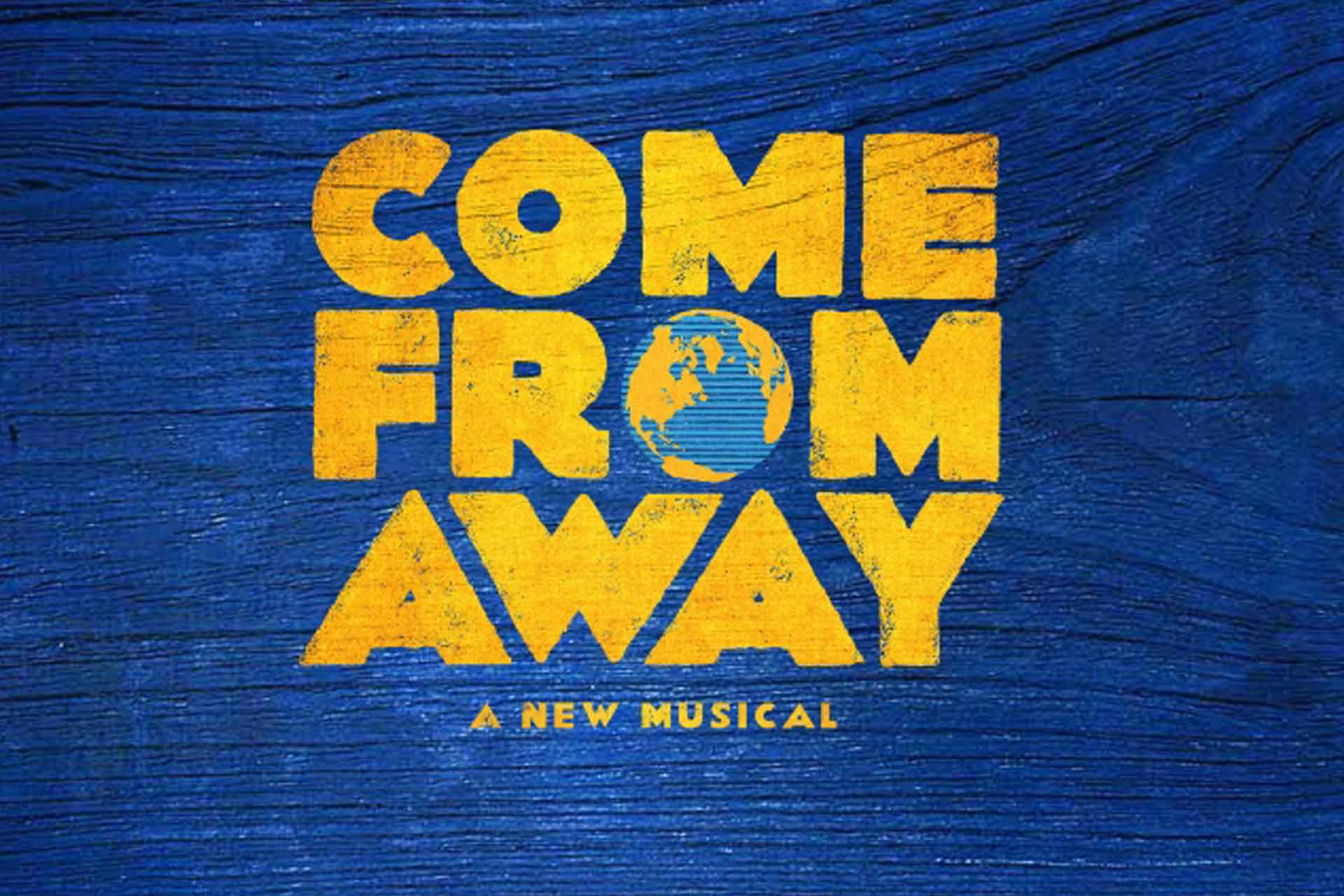 come from away- musical logo