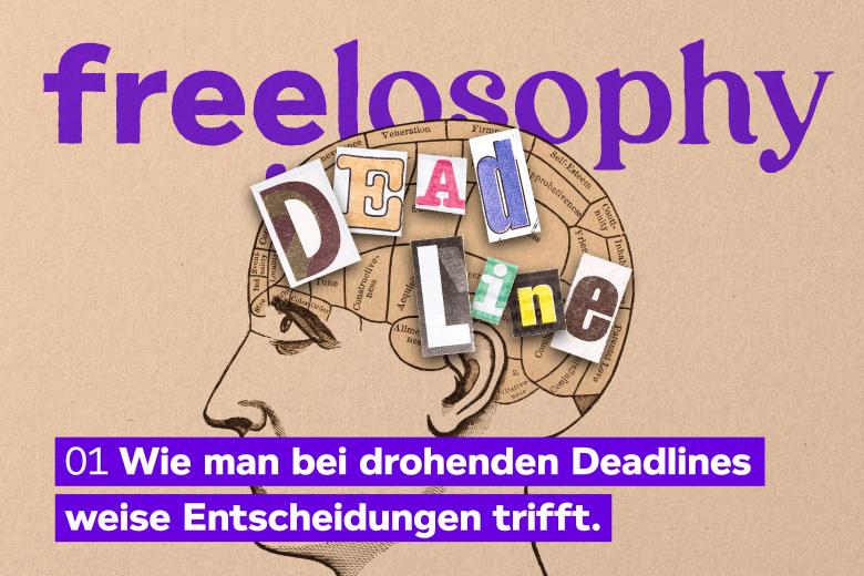 freelosophy 01: Illustration von Kopf