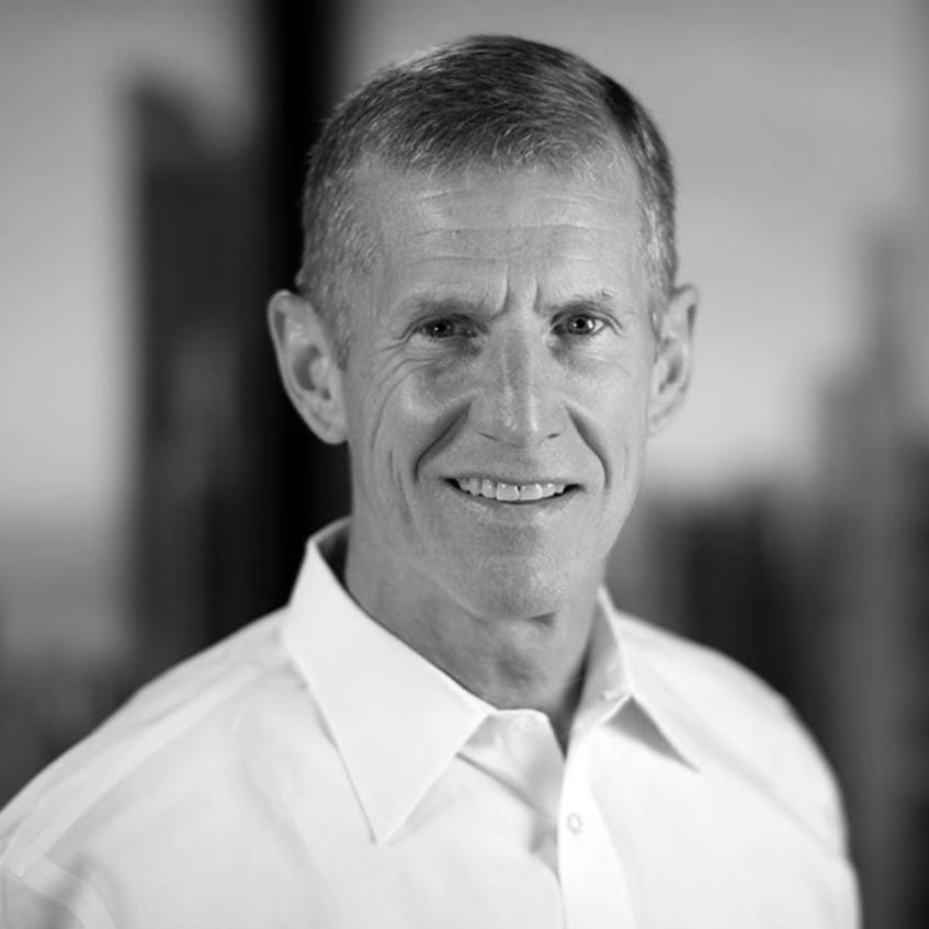 A headshot photograph of Gen. (Ret.) Stan McChrystal.