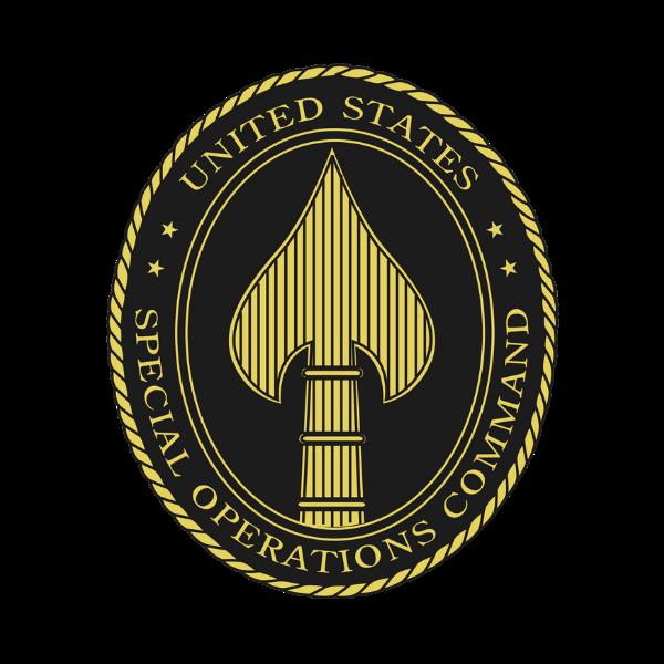 U.S. Special Operations Command logo.