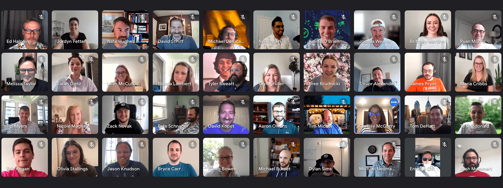 Second Front remote team photo