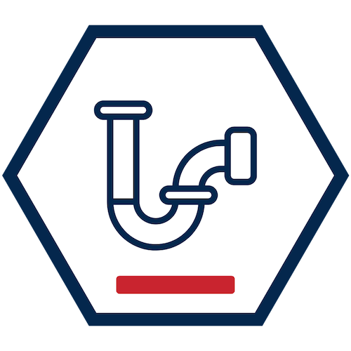 Drain Icon - Clog Causes - Never Put These Down the Drain