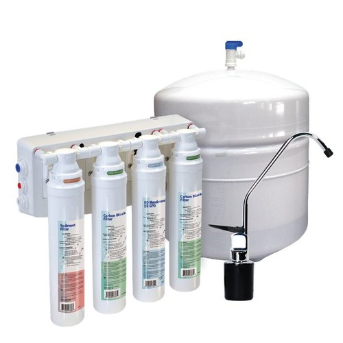 Icon of drinking water purification with drinking water system
