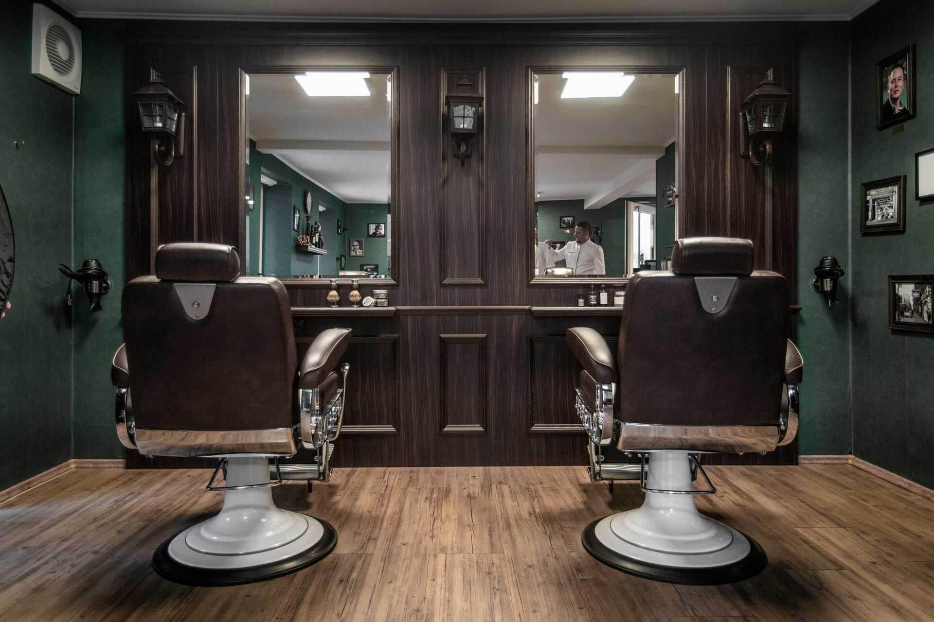 Salon von Weltmann Barbershop in Ulm - Bild von Felix Weichsel.