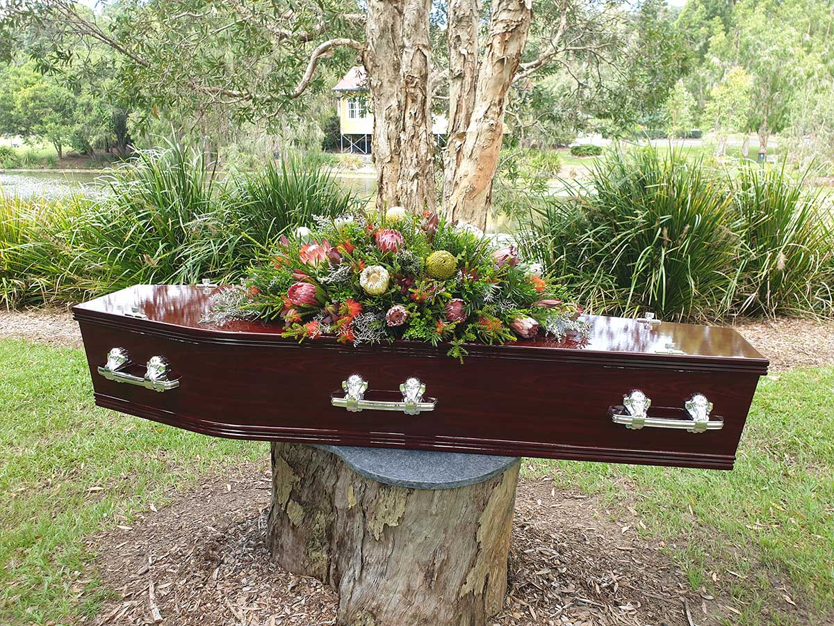Dolphin Funeral Coffins