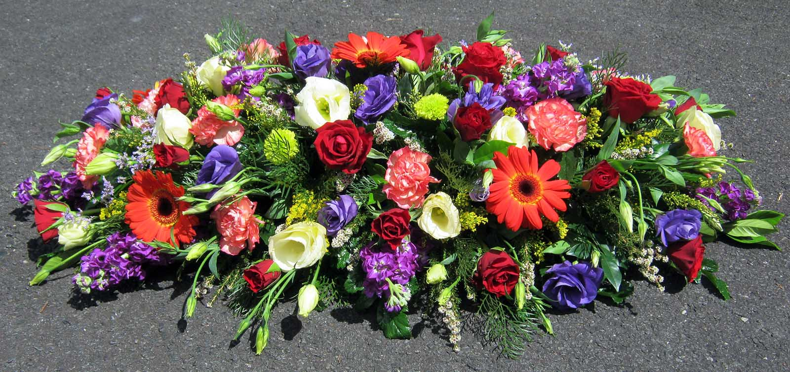 Dolphin Funeral Flower Tribute