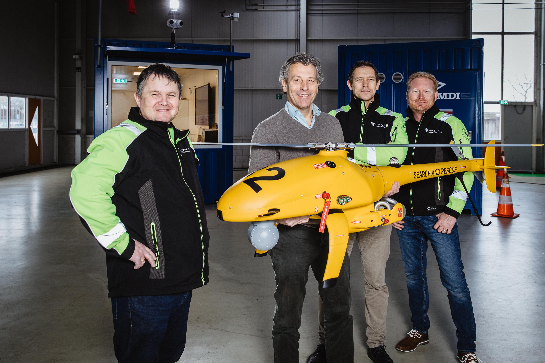 'Toezicht op zee met behulp van drones neemt een vlucht'