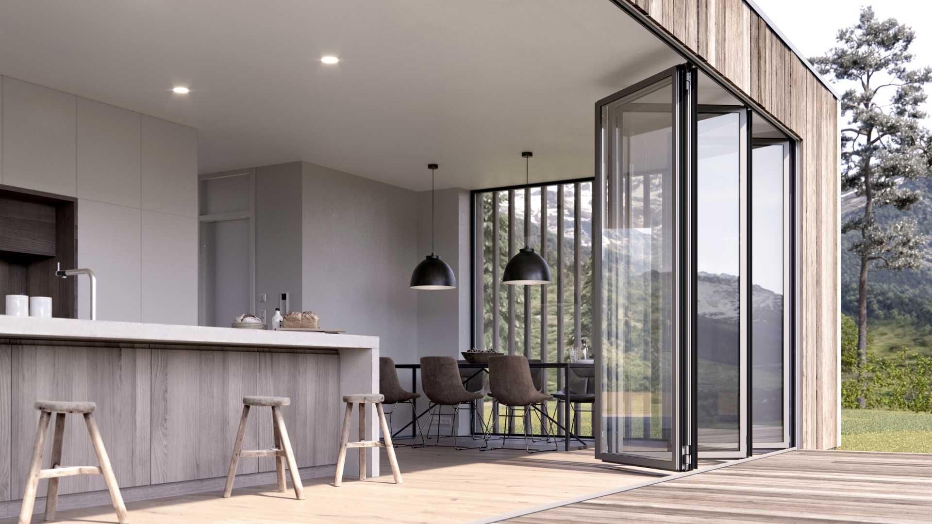 Volledig luxe uitstraling, transparantie en gastvrijheid met glaswanden