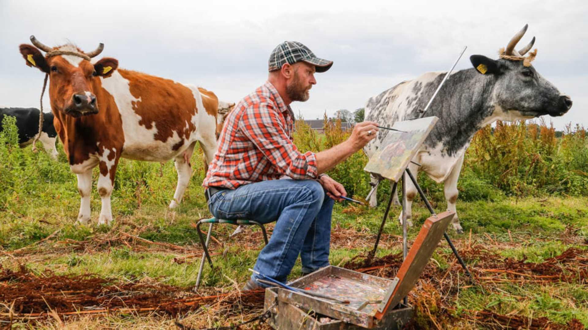 Koeienschilder Ruud Spil