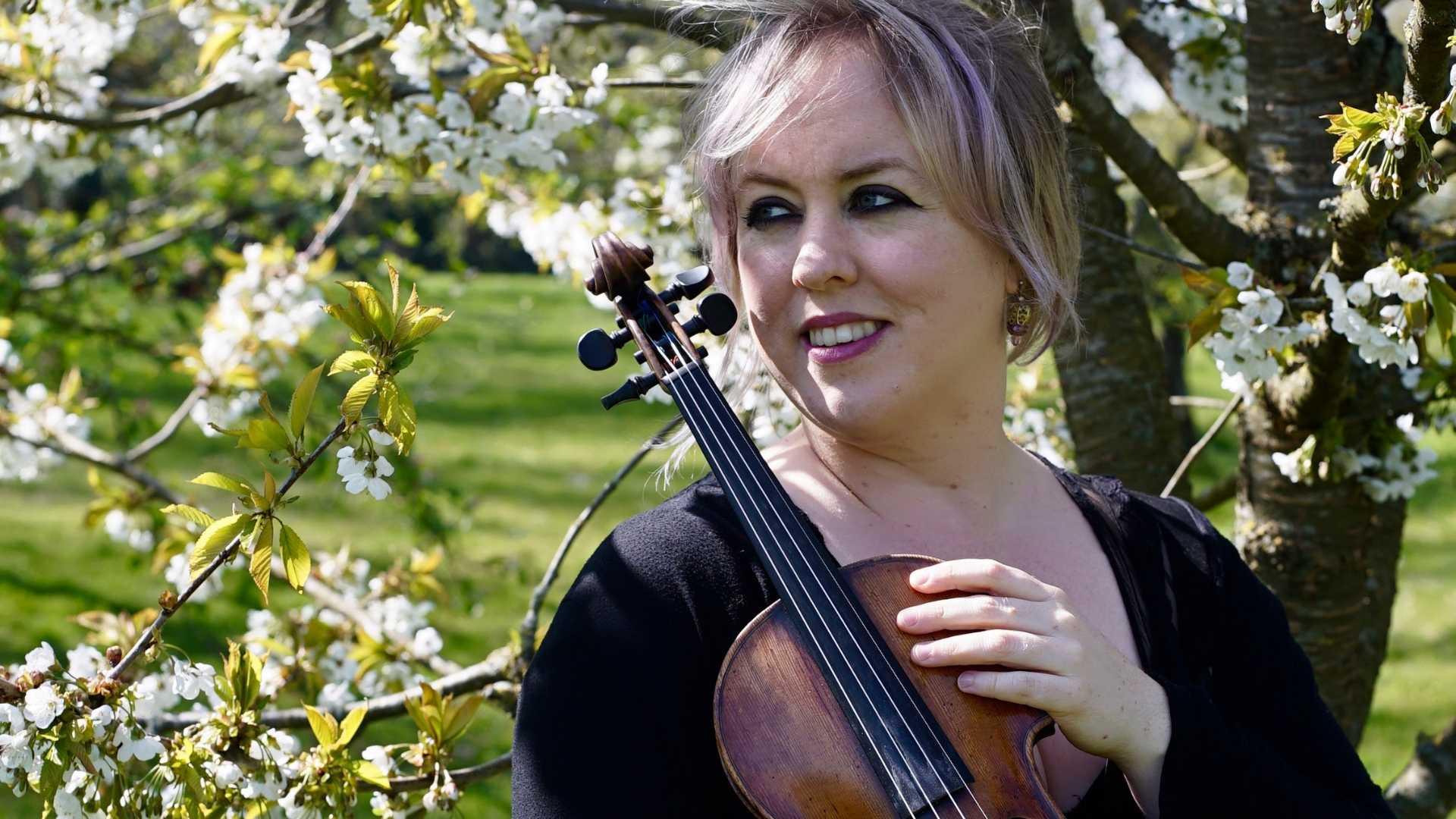Talenten uit de regio: violiste Birthe Blom