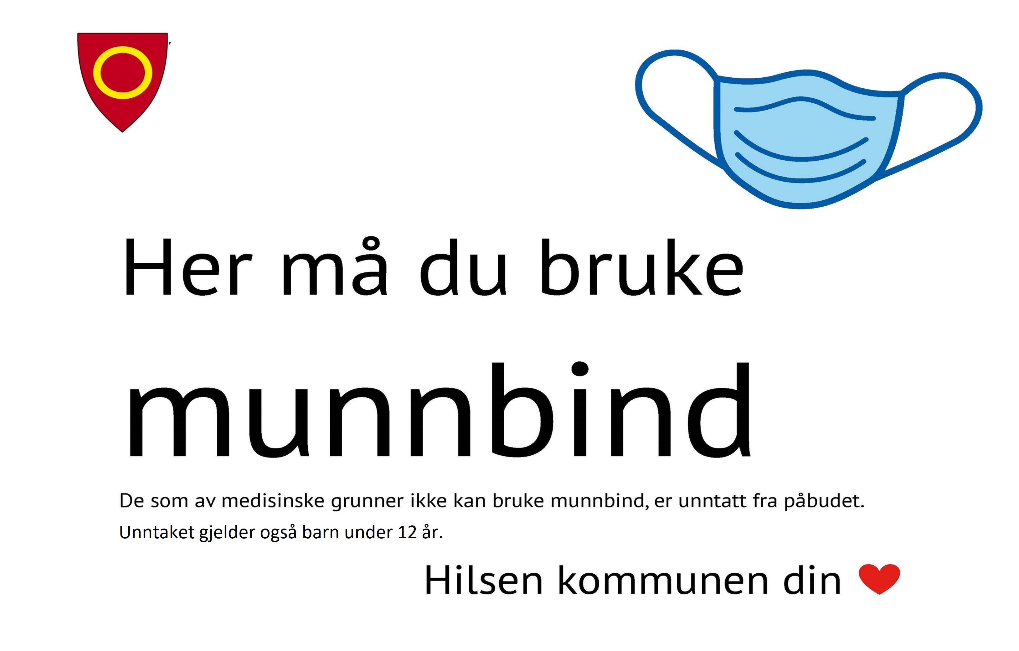 Munnbind i Hønefoss Arena