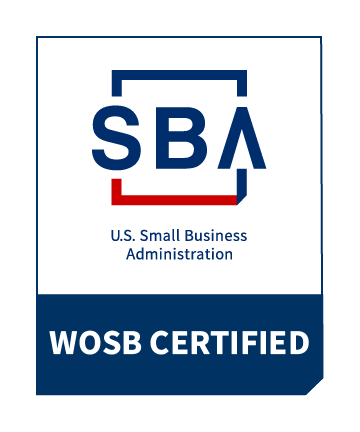 SBA S.S. Small Business Administration WOSB Certified
