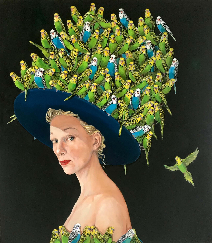 Joanna Braithwaite, Birdwatching, 2018. Courtesy of the artist and Bowen Galleries.