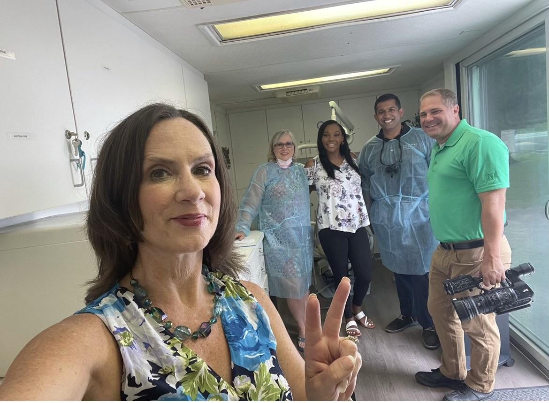 Selfie with the doctors