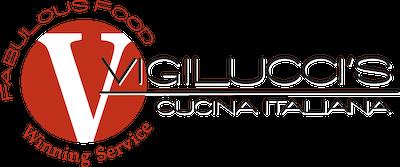 Vigilucci's Cucina Italiana logo.